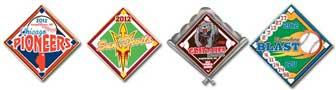 Quick Baseball Trading Pins
