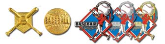 Quickship Stock Baseball Pins