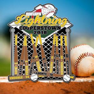 Designated Hitter Baseball Trading Pin Design